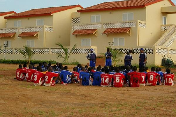 Sport-Louga : l'institut Diambar en mission de détection des jeunes talents