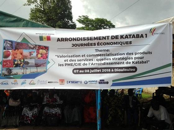 Journées Economiques de Kataba1 : A  la conquête du marché national et international avec une riche gamme de produits