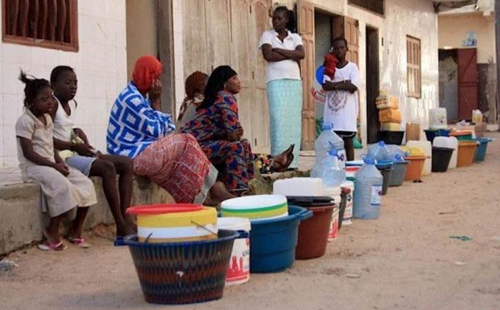 Pénurie d'eau à Saint-Louis : Le mal persiste …