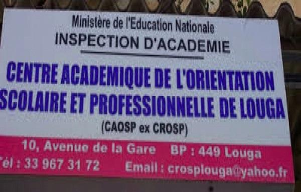 Louga: les locaux du CAOSP cambriolés, des traces de sang constatés, 350.000 fcfa et du matériel bureautique emportés