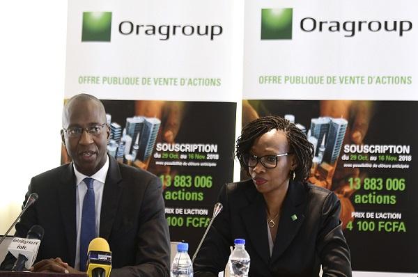 Economie: Oragroup annonce sa prochaine introduction à la Bourse régionale des valeurs mobilières (BRVM) d'Abidjan