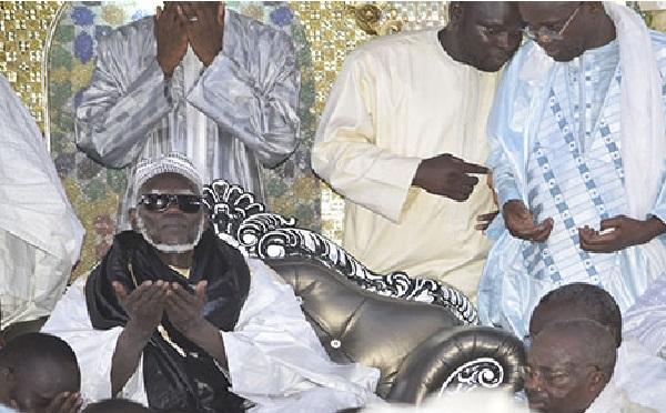 Apaisement de la situation politique : Assane Diouf, Clédor Sène et Dame Mbodj reçus par le Khalife général des mourides