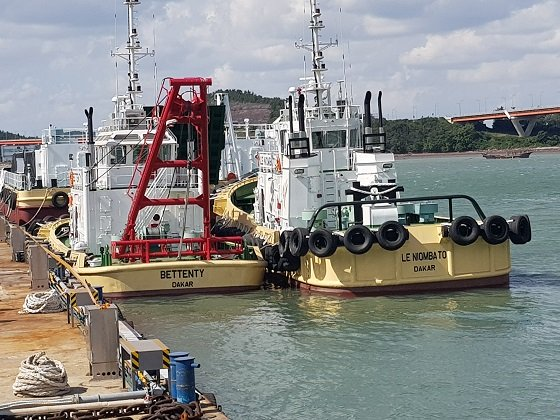Equipements maritimes : Les 5 navires commandés attendus à Dakar en fin novembre 2018