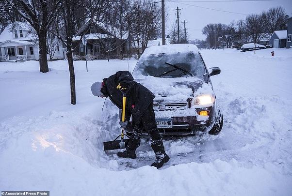 Vagues de froid aux Etats-Unis : pronostic vital alarmant dans certains états comme le Minnesota