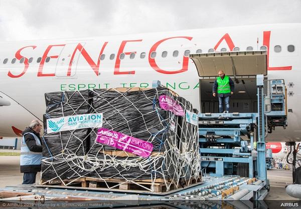 Social : Air Sénégal et la Fondation Airbus s'associent pour effectuer un premier vol de bienfaisance