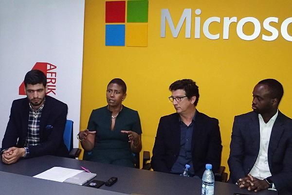 Sénégal :  Microsoft soutient des start-ups pour stimuler la croissance économique