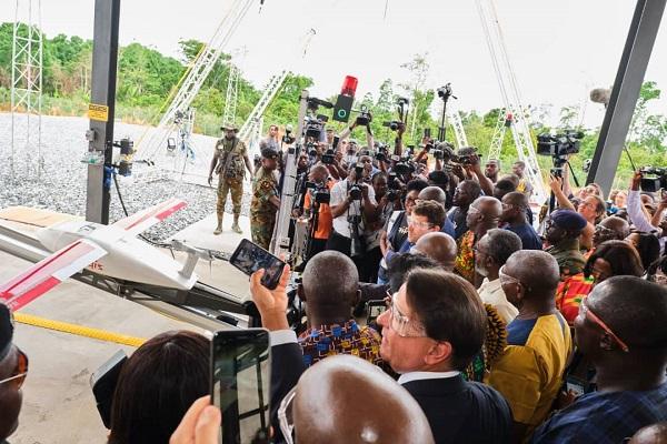 Produits médicaux essentiels :  en coopération avec Zipline International, le Sénégal s'achemine vers la livraison  par drone