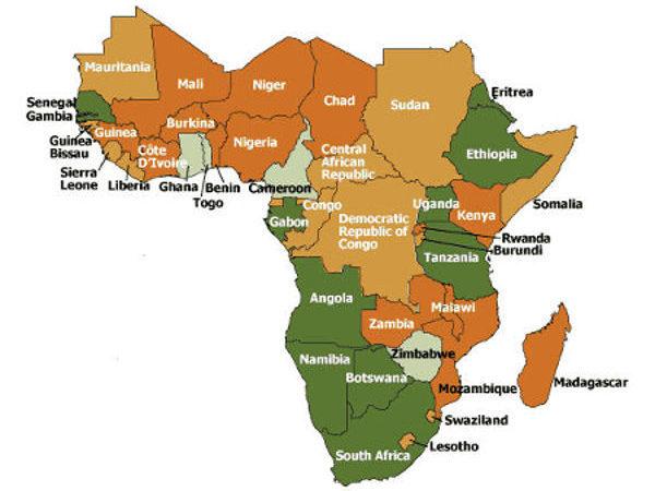 Afrique sub-saharienne :  299 millions de personnes vivent dans les pays en situation de fragilité