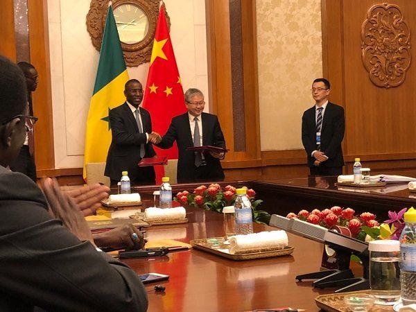 Coopération : la Chine accorde un don de 25 milliards FCFA au Sénégal