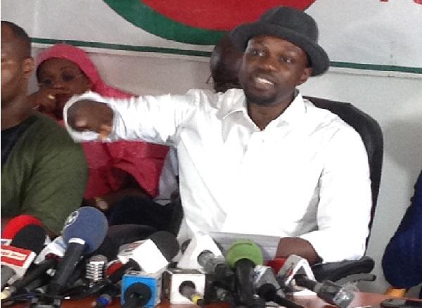 Sonko très furieux sur l'arrestation de Boubacar Sèye : «Le procureur de Macky est un zélé qui ne fait pas honneur à la justice»