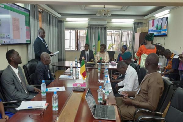 Appui au mécanisme de sécurité des pays de la CEDEAO : la Vice-Présidente Finda Koroma a visité le CNAP du Mali