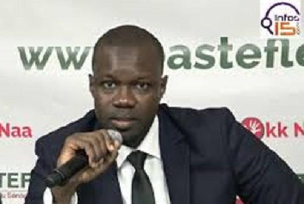 Ousmane Sonko brise le silence : «Que personne n'essaie de nous distraire»