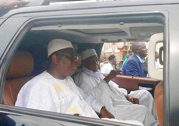 Massalikoul Djinane réconcilie Macky Sall et Abdoulaye Wade: les images qui parlent