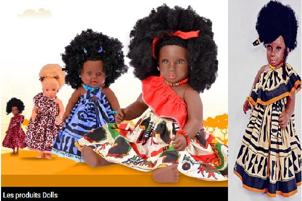 Valorisation du potentiel local : des poupées africaines débarquent dans l'univers JUMIA au Cameroun