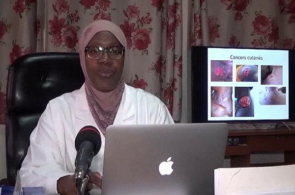 Pr Fatimata LY invitée de RFI dans l'émission Priorité Santé sur le thème: Eczéma et problèmes de peau