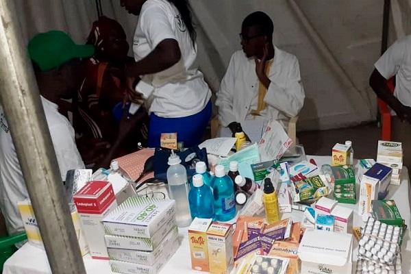 Contribution de Mamour Diallo au Mawlid: Social Pharma a organisé des journées de consultation médicale gratuite