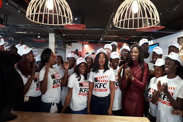 Economie : Après un premier KFC au personnel 100 % féminin, le groupe Sedima inaugure un deuxième employant des personnes vivant avec un handicap