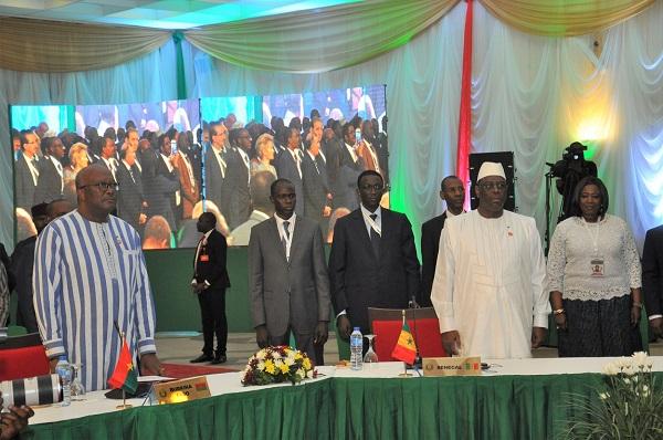 CEDEAO :  Ouverture à Abuja de la cinquante-sixième session ordinaire des chefs d'État et de gouvernement