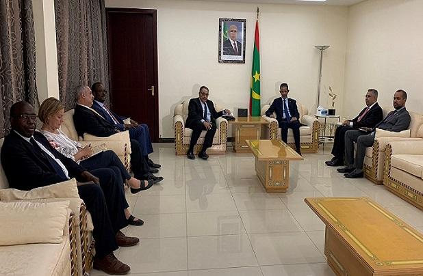 Visite en Mauritanie : le Vice-président de la B.M pour la région Afrique, salue leur engagement pour le développement du capital humain et une croissance inclusive