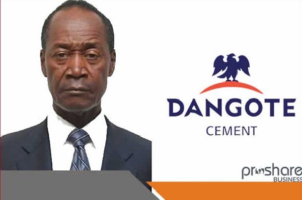 Cercle des Affaires : après 45 années de service dans le secteur du ciment  M. Makoju, GMD/CEO de Dangote Cement, prend sa retraite