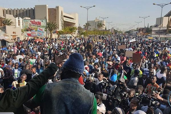 Manifestation du 10 janvier : Nio Lan réussit encore le pari de la mobilisation