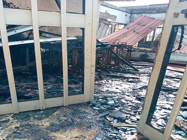 Togo : Un incendie endommage partiellement la Maison des Jeunes de Lomé