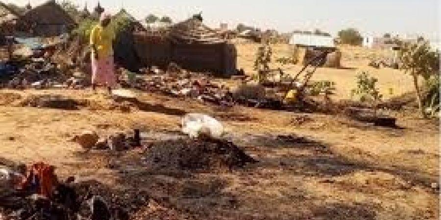 Louga : un hameau de 6 chambres complètement consumé par un incendie à Ngar Peul.