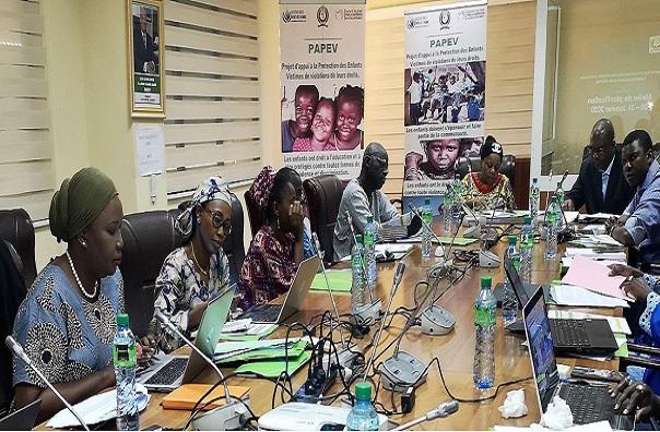 Protection des enfants victimes de violations de leurs droits (PAPEV) : la  CEDEAO et ses partenaires en planification stratégique à Dakar