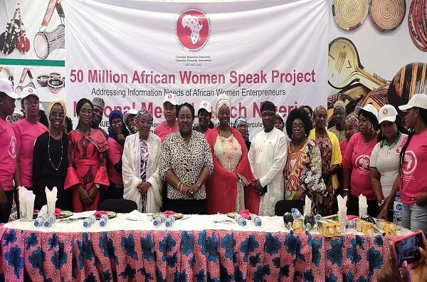Nigeria : 300 Femmes Entrepreneures ont répondu au lancement officiel de la plateforme de réseautage « 50 million african women speak »