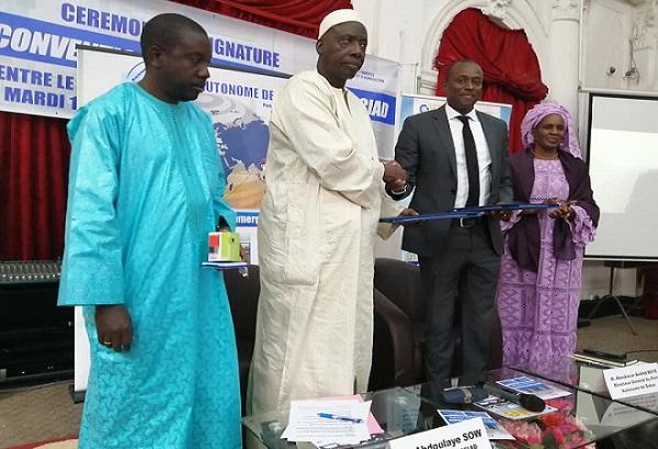 Dispositif de pesage : Signature d'une convention de partenariat entre la Chambre de commerce et le port Dakar
