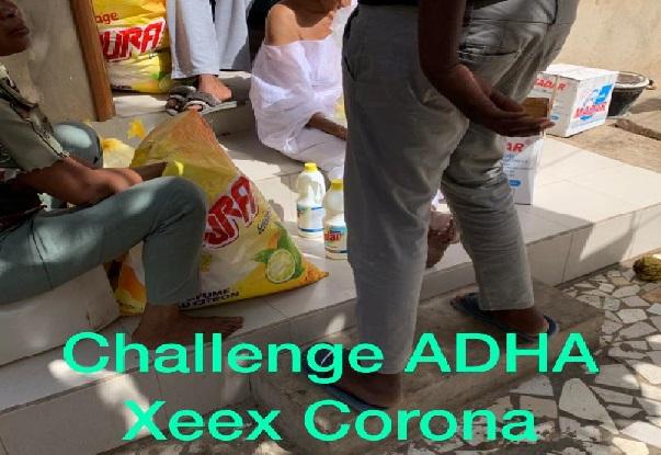 Solidarité contre le Coronavirus : l'Ong ADHA entame des actions envers les couches vulnérables