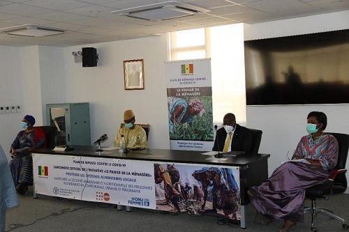 Réponse FAO au COVID-19 au Sénégal : Lancement de l'initiative «Le panier de la ménagère»