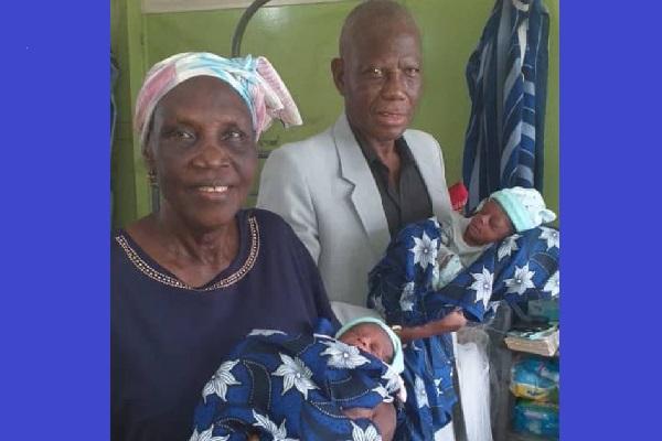 Insolite à Lagos: une Nigériane de 68 ans donne naissance à des jumeaux