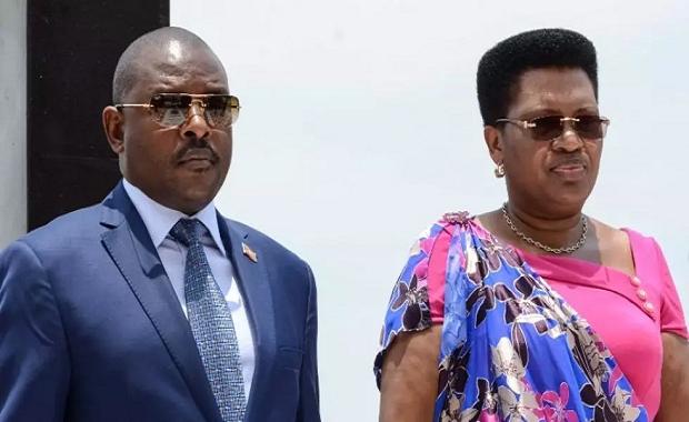 Burundi : le président Nkurunziza décédé hier, sa femme atteinte du Coronavirus était hospitalisée au Kenya