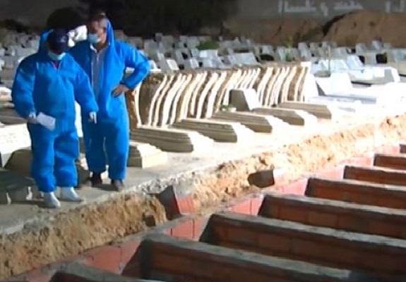 Tunisie : des dizaines de migrants enterrés après le naufrage de leur bateau au large de Kerkennah