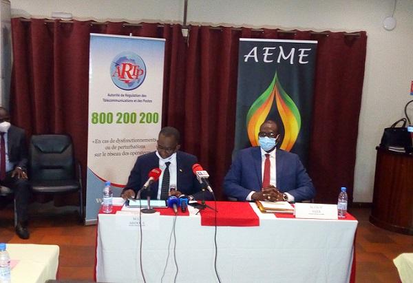 Réduction de la consommation d'électricité : Des conventions signées entre l'AEME, l'ARTP et le COPRES