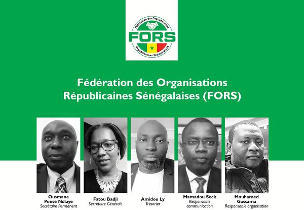 Déclaration Liminaire de la Fédération des Organisations Républicaines Sénégalaises (FORS)