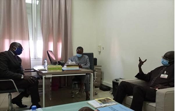 Audience de l'APRES : le Ministre El Hadj Hamidou Kassé adhère et appelle la presse autour de l'Apres