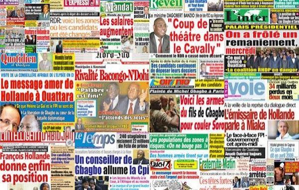 Côte d'Ivoire: des rapports dévoilent des fautes d'éthique et de déontologie des médias