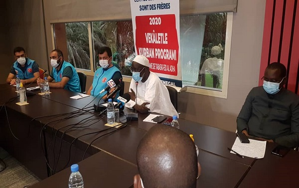 Action de Solidarité: l'organisation humanitaire Diyanet Vakfi au chevet 300 mille familles au Sénégal