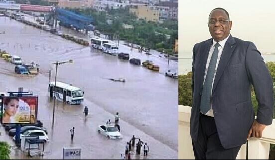 Fortes pluies du week-end: Macky déclenche le plan Orsec