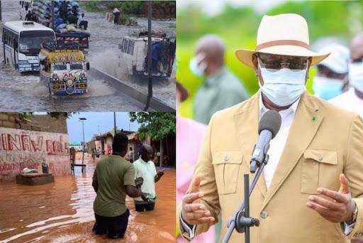 Macky Sall sur la Gestion des inondations : « Je suis à l'aise à engager ce débat avec qui le souhaite dans ce pays »