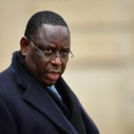 PARIS, FRANCE - NOVEMBER 11: President of Senegal Macky Sall leaves the Elysee Palace after the international ceremony for the Centenary of the WWI Armistice of 11 November 1918, in Paris, France on November 11, 2018.  Mustafa Yalcin / Anadolu Agency