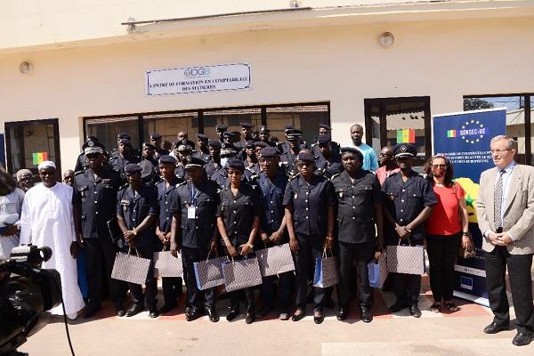 SENSEC-UE : Fin de formation des forces de sécurité sur la comptabilité des matières