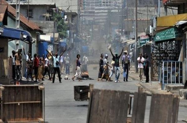 Côte d'Ivoire : un couvre-feu instauré à Yamoussoukro après des violences postélectorales