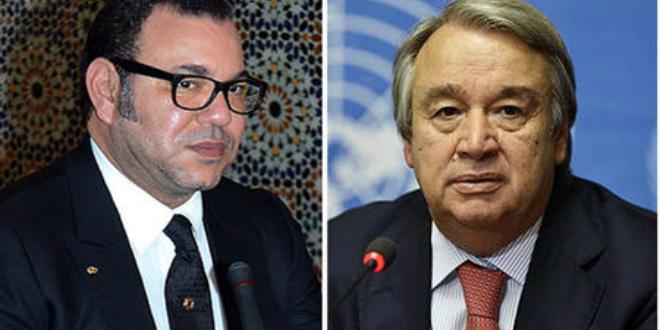 Situation dans la zone de Guergarate au Sahara marocain : Le Roi Mohammed VI en entretien téléphonique avec le Secrétaire Général des Nations Unies
