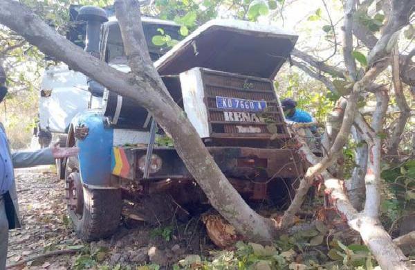 Accident à Sédhiou : Le conducteur manipulait son téléphone et a pris la fuite après le sinistre