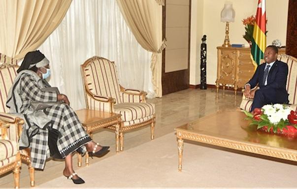 Togo : Binéta Samba Ba, l'ambassadeur du Sénégal en fin de mission