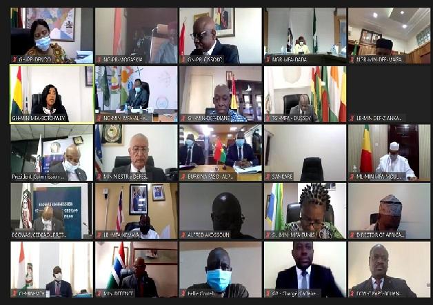 CEDEAO : la 45ème session ordinaire du Conseil de médiation et de sécurité s'est tenue en mode virtuelle