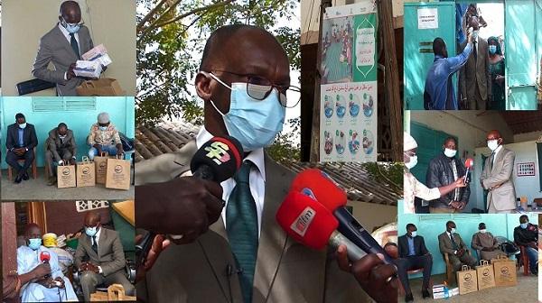 Lutte contre la Covid-19 dans la commune Fass-Gueule-Tapée-Colobane : 10 000 masques, des gels hydro-alcooliques, thermo-flash offerts par Thierno Ndiaye aux écoles et Daaras